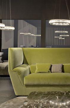 Cocoon Sofa by Toan Nguyen for Fendi Casa, Salone del Mobile Milan 2014