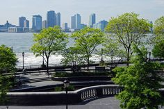 Battery Park City Esplanade and South Cove, NYC