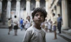 Little Saroo in the movie 'Lion' 2016