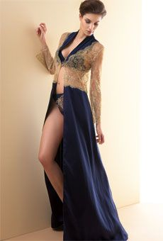 Lingerie - Want Factor, Lise Charmel - Normally I don't go dreamy-eyed for long robes, but wow