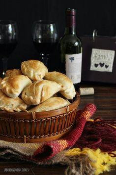 Te saldrán perfectas las empanadas si sigues la receta del blog SABOREANDO EN COLORES.