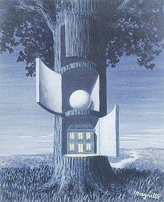 """""""La voix du sang"""", de René Magritte More Pins Like This At : FOSTERGINGER @ Pinterest."""