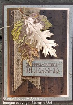 I'msharing a few projects created by some of my very talented Stampin' Up! team members with you all today.