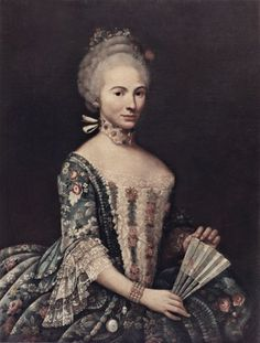 ab. 1760-1780 Alessandro Longhi - Portrait of a woman