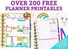 Free Planner Printables Main