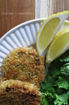 Turkey Croquettes #thanksgiving #leftovers #recipes