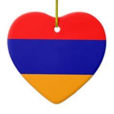 Flag of Armenia Ceramic Heart Decoration Christmas Traditions, Christmas Themes, Christmas Tree Decorations, Christmas Ornaments, Armenian Christmas, Heart Decorations, Flag, Culture, Ceramics