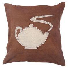 Teapot Pillow