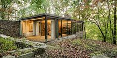 Richard Neutra's Pitcairn House is a hidden architectural gem in the Pennypack Preserve near Philadelphia.