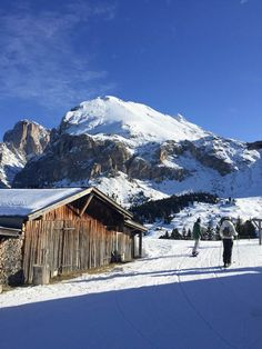 Love the beautiful postcard views which can be found all over the SeiserAlm ski area.