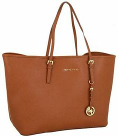 MICHAEL Michael Kors - Saffiano Medium Travel Tote (Luggage) - Bags and Luggage on shopstyle.com