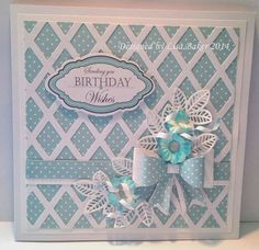 Handmade wedding card using tattered lace dies - Google Search