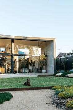 A Native Garden Made With Recycled Renovation Debris (The Design Files) Exterior Design, Interior And Exterior, Australian Garden Design, Casa Patio, The Design Files, Modern Architecture, Landscape Design, Beautiful Homes, Building A House