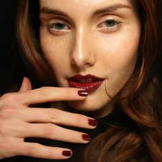 #beauty #trends 2014 color berry