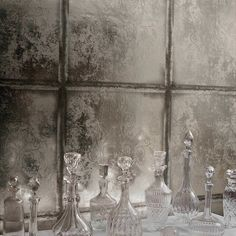 Albery 94/4022 - Albemarle - Cole & Son. Possible idea for wallpaper under glass for back splash.