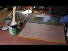 How To Install Sheet Laminate On A Countertop - YouTube