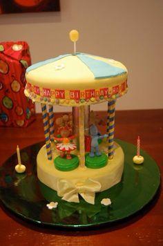 In the night garden, carousel, birthday cake