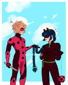 Cartoons Are Gay Culture. — lowkeybreee: my knees are w e a k Balto And Jenna, Ladybug E Catnoir, Catty Noir, Miraculous Ladybug Fan Art, Fanart, Marinette And Adrien, Kawaii, Art Blog, Wallpaper