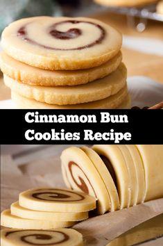 Best Cinnamon Bun Cookies Recipe Tatlı tarifleri – The Most Practical and Easy Recipes Easy Cookie Recipes, Cookie Desserts, Easter Recipes, Just Desserts, Baking Recipes, Sweet Recipes, Delicious Desserts, Dessert Recipes, Yummy Food