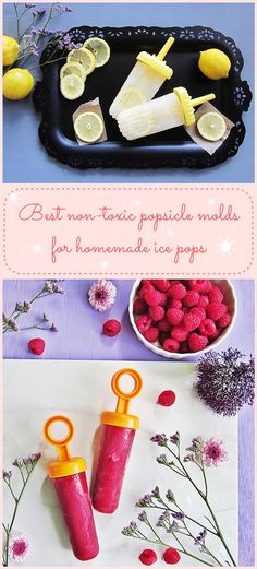 Non-toxic popsicle molds for homemade popsicles - Popsicle Molds - Ideas of Popsicle Molds Homemade Popsicles, Popsicle Molds, Ice Pops, Tupperware, Ethnic Recipes, Green, Food, Ideas, Popsicles