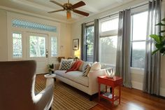 Early 20th Century Residence - traditional - Living Room - Austin - Regan Baker Design