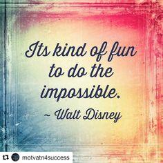 Its kind of fun to do the impossible. - Walt Disney  #Happy#Wednesday #Quote#QuoteOfTheDay#PhotoOfTheDay#PicOfTheDay#Instagood#BestOfTheDay#Austin#Texas#ATX#Houston #SanAntonio #Virginia #Motivation#Inspiration#Success#Passion#Abundance#PREINFunding#RealEstate#Realtor#Entrepreneur#Wealth#Luxury#Dream#Big#Winning#BeastMode  Repost @motvatn4success with @repostapp