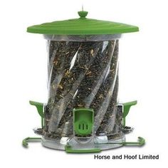 Classic Brands LLC Wide Mouth Unity Songbird Tube Bird Feeder with Four Adjustable Feeding Ports