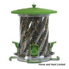 Classic Brands LLC Wide Mouth Unity Songbird Tube Bird Feeder with Four Adjustable Feeding Ports Bird Seed Feeders, Wild Bird Feeders, All Birds, Little Birds, Backyard Birds, Bird Houses, Squirrel, Outdoor Gardens, Unity