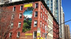 This is so fun. I'm always a huge fan of guerilla marketing. Draftfcb Interns Break Through With Jamaica Wallscapes in NYC