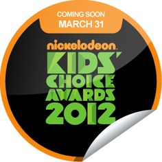 sticker of kids choice awards!