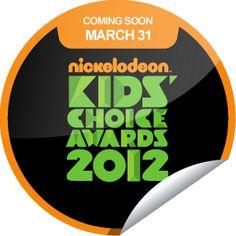 sticker of kids choice awards!