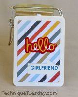 Say it - Hello Hello Girlfriend Card