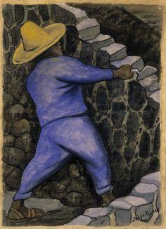 Le Maçon, par Diego Rivera