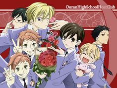 #5 Even oin an anime with only 1 girl present, I can't help but love this series. Comedy at it's finest...Ouran High School Host Club