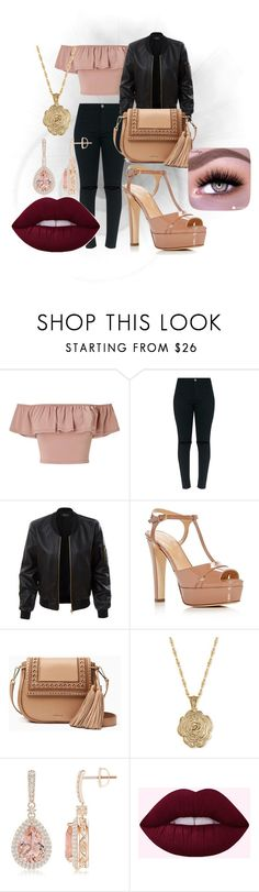 """""""party  night"""" by ceidy-velasquez ❤ liked on Polyvore featuring Miss Selfridge, LE3NO, Sergio Rossi, Kate Spade and 2028"""