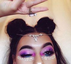 Gorgeous Makeup Ideas My Top Festival Looks, Festival Hair, Festival Makeup, Makeup Inspo, Makeup Art, Makeup Inspiration, Makeup Tips, Beauty Makeup, Exotic Makeup