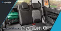 Espacio y comodidad en un vehiculo compacto. #FiatUno. Ven y conocelo en Nazario Ortiz Garza 1750 Col. Alpes en Saltillo, Coahuila.