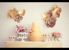 Our Favourite Candy Bars and Wedding Dessert Tables