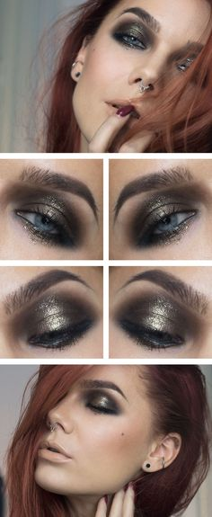 The balm nude'tude palette Make up geek pigment Utopia NYX slide on eye pencil black