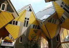 Küp evler (Rotterdam, Hollanda)