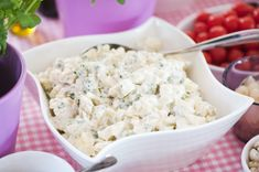 Croissants, Feta, Potato Salad, Yummy Food, Cheese, Baking, Ethnic Recipes, Sweet, Party Ideas
