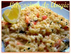 Risotto de salmón ahumado Risotto, Buddy Valastro, Quinoa, Rice, Salmon, Ethnic Recipes, Food, Gastronomia, Finger Foods
