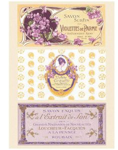 French Soap Labels Love how dainty these vintage French soap labels are. Vintage Labels, Vintage Ephemera, Vintage Cards, Vintage Postcards, Vintage Images, French Vintage, Vintage Clocks, French Wine, Soap Labels