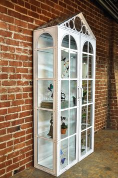 vitrine cabinet by vintage industrial furniture in phoenix az build industrial furniture