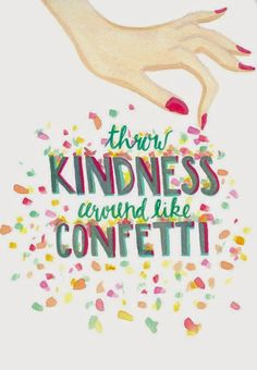 """A """"Kindness Party""""! I love it!!! My Title Wave: """"Kindness Party"""" Week!"""