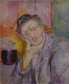 Self-Portrait with Hand under Cheek - Edvard Munch