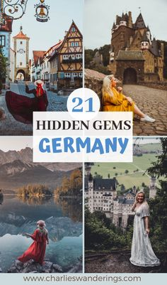 21 Must See Hidden Gems in Germany - international travel Cool Places To Visit, Places To Travel, Travel Destinations, Germany Destinations, Time Travel, Voyage Europe, Europe Travel Guide, Instagram Inspiration, Travel Inspiration
