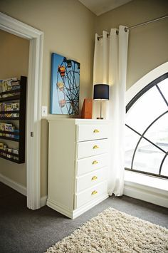 love the canvas for boy's room.