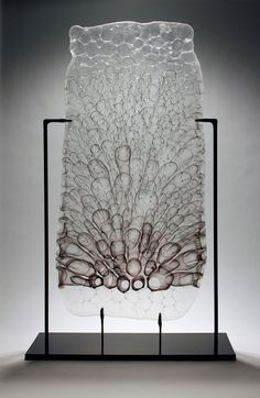 Steven Tippin art glass sculpture:
