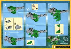 Make and Create - Dino  [Lego 7219]